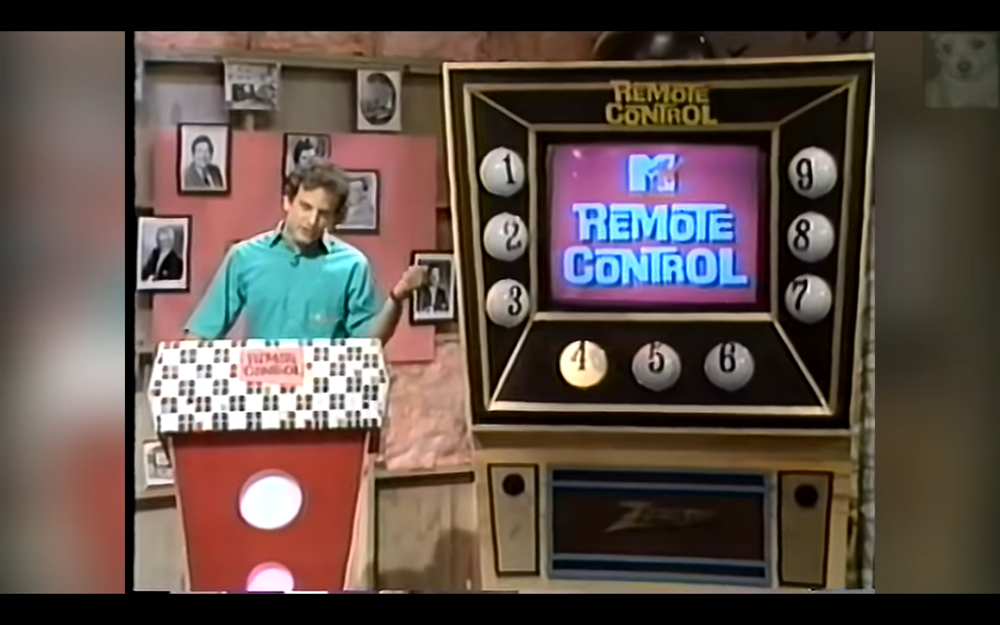 MTV's Remote Control - Fonts In Use