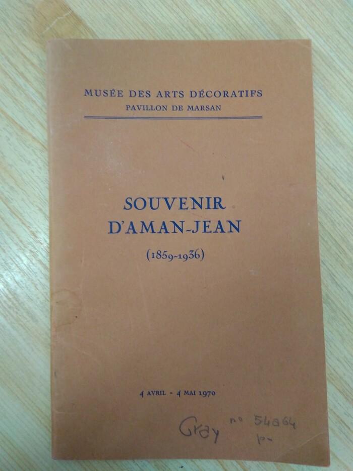 Souvenir d'Aman-Jean 1