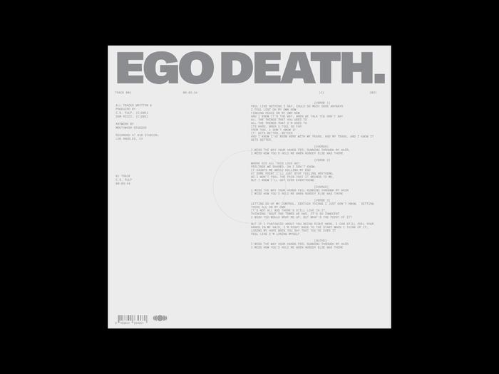 "C.S. Fulp – ""Ego Death"" single 3"