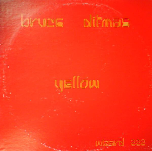 Yellow front cover (Wizard Records, 1977), ft.  Hairline. No designer is credited. [More info on Discogs]
