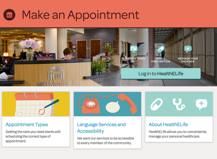MIT Medical website 5