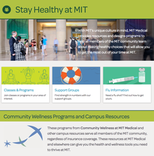 MIT Medical website