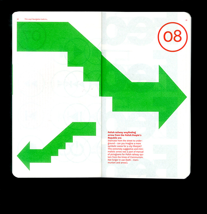 This Way! Navigation tools in visual communication exhibition guide 5