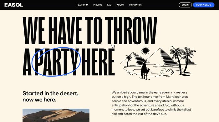 Easol website 4