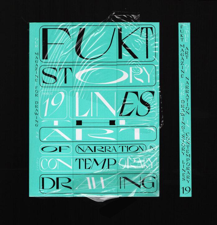 "Fukt magazine 19, ""The Storylines Issue"", Dec 2020 1"