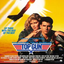 <cite>Top Gun</cite> (1986) movie poster