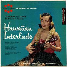 Jonnie Aluani and his Orchestra – <cite>Hawaiian Interlude</cite> album art