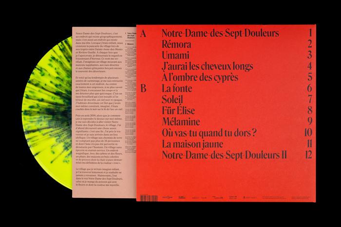 Klô Pelgag — Notre-Dame-Des-Sept-Douleurs album art 2