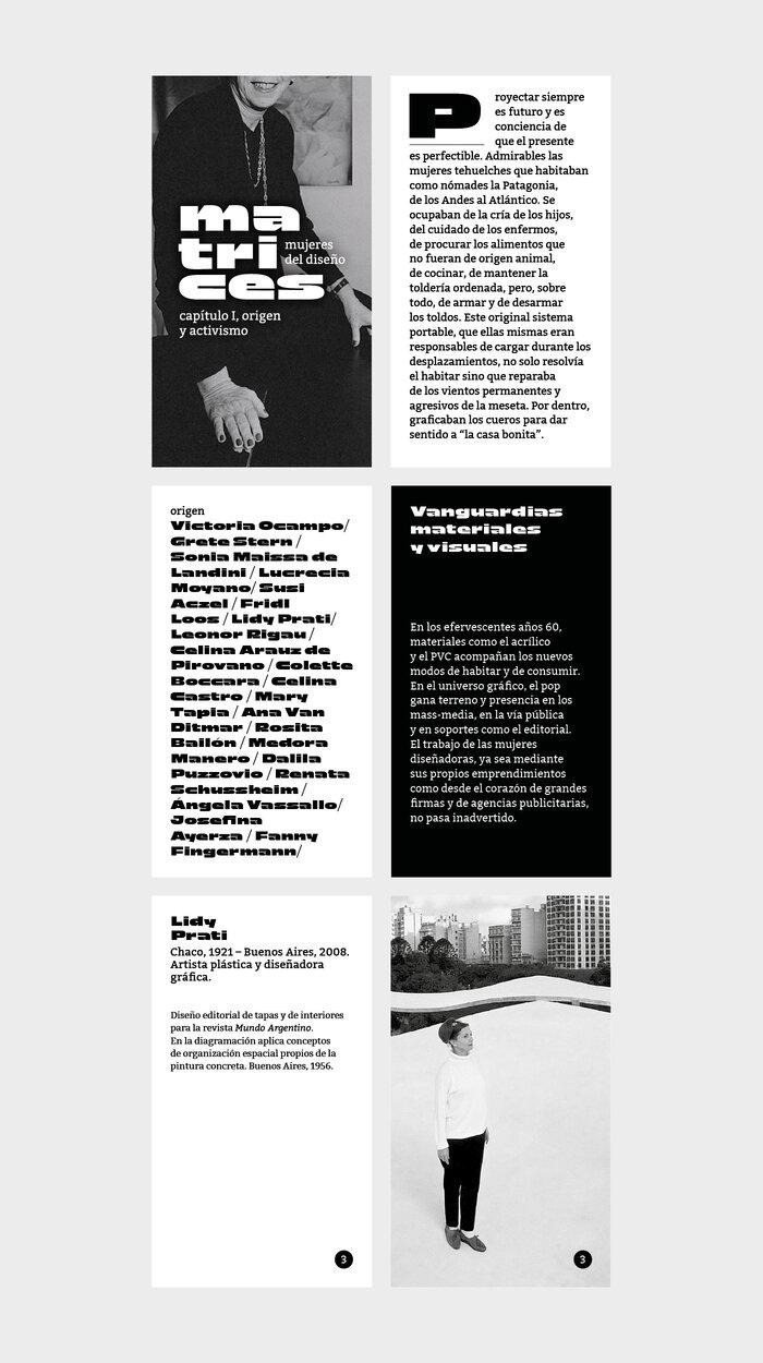 Matrices, mujeres del diseño. Capítulo I: Origen y Activismo 4