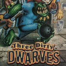<cite>Three Dirty Dwarves</cite> video game ad (1996)