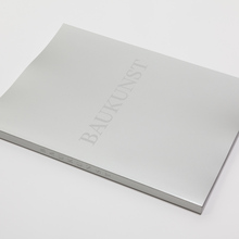 Baukunst monograph