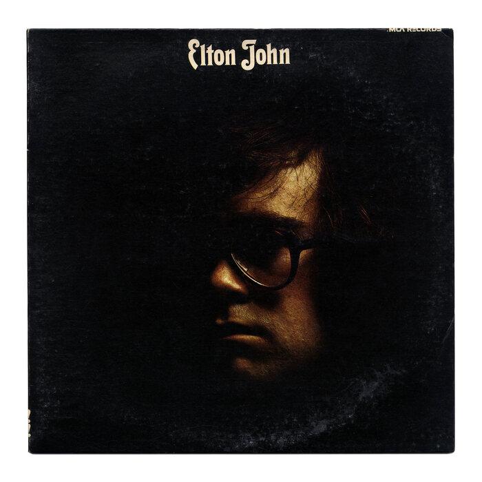 "Elton John – Elton John album art, ""Your Song"" single cover 1"