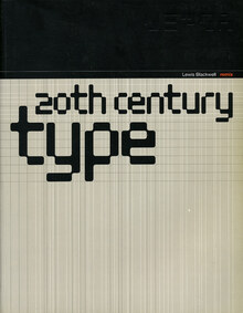 <cite>20th Century Type Remix</cite> by Lewis Blackwell