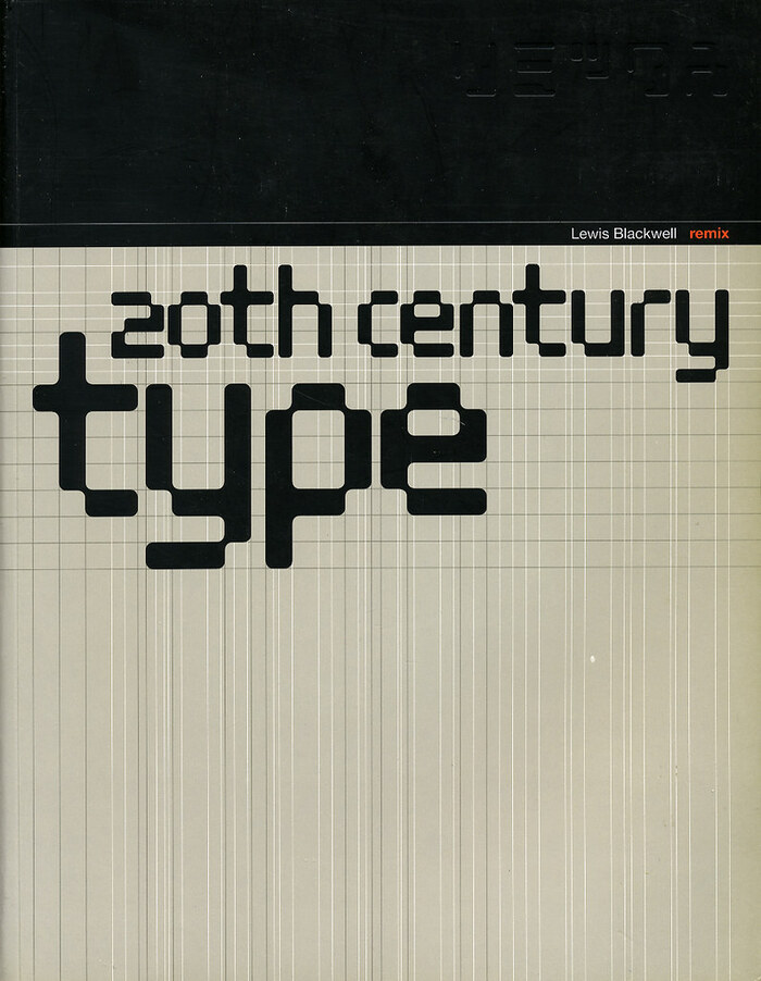 20th Century Type Remix by Lewis Blackwell 1
