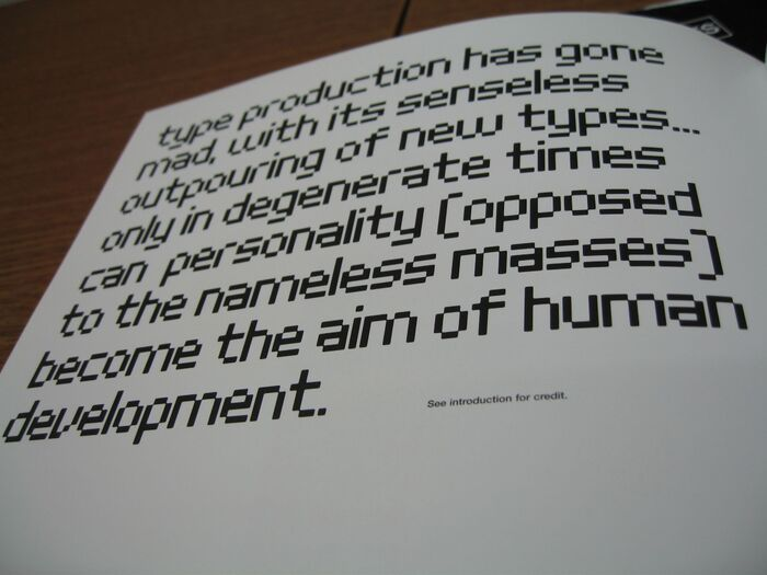 20th Century Type Remix by Lewis Blackwell 3