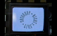 <cite>Saturday Night Live</cite> TV logo (1988–1995)