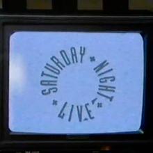 <cite>Saturday Night Live</cite> TV logo (1988–1995)