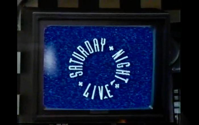 Saturday Night Live TV logo (1988–1995) 2