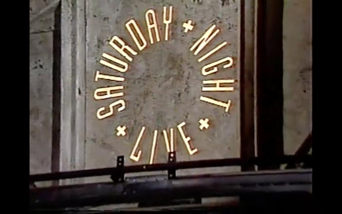 Saturday Night Live TV logo (1988–1995) 5