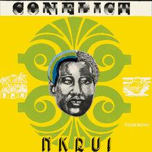 Ebo Taylor &amp; Uhuru Yenzo – <cite>Conflict</cite> / <cite>Nkru!</cite> album art