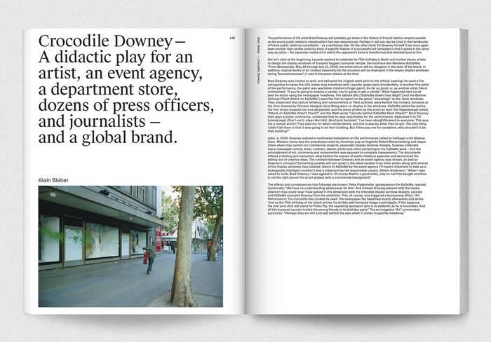 Brad Downey – Slapstick Formalism: Process, Project, Object 12