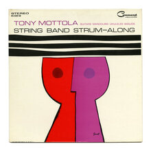 Tony Mottola – <cite>String Band Strum-Along</cite> album art