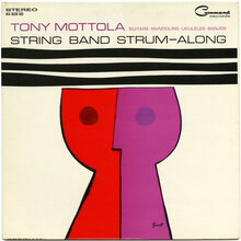 Tony Mottola – <cite>String Band Strum-Along</cite> album art