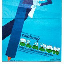 <cite>Zaľúbený blázon</cite> (<cite>Innamorato pazzo</cite>) Czechoslovak movie posters