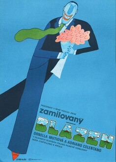 Czech   poster titled Zamilovaný blázen. In this version, the acute to go with Avant Garde Gothic is just as flat and thin as the one above the A in Astral.