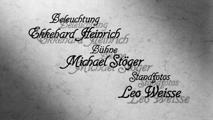 Die Sehnsucht der Veronika Voss (1982) title sequence 3