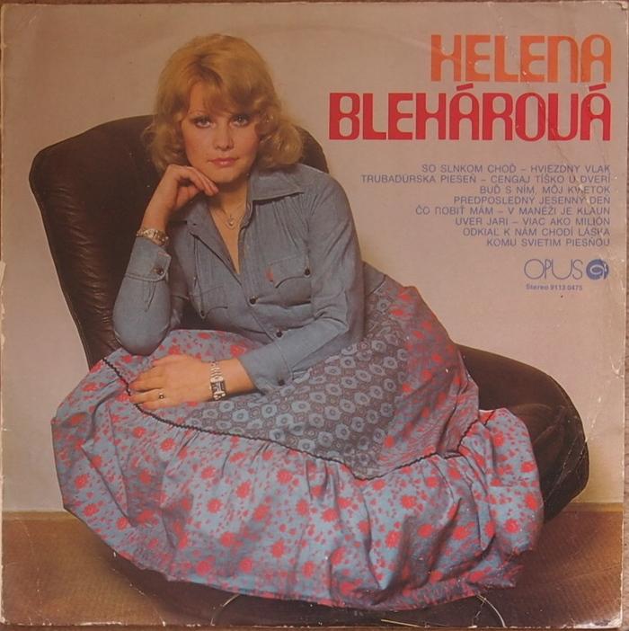 Helena Blehárová album (front)