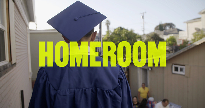 Homeroom logo, as featured in the documentary.