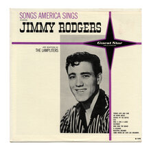 Jimmy Rodgers – <cite>Songs America Sings</cite> album art