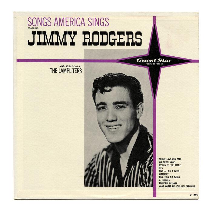 Jimmy Rodgers – Songs America Sings album art