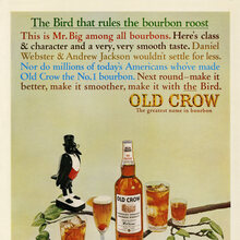 Old Crow ad (1963)