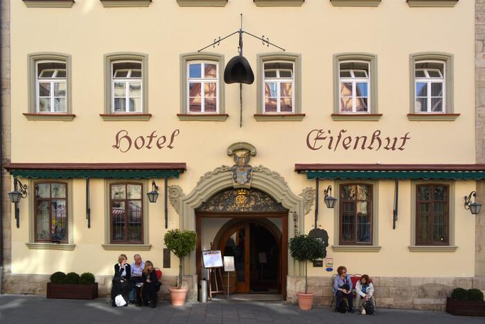 Hotel Eisenhut, Rothenburg 1