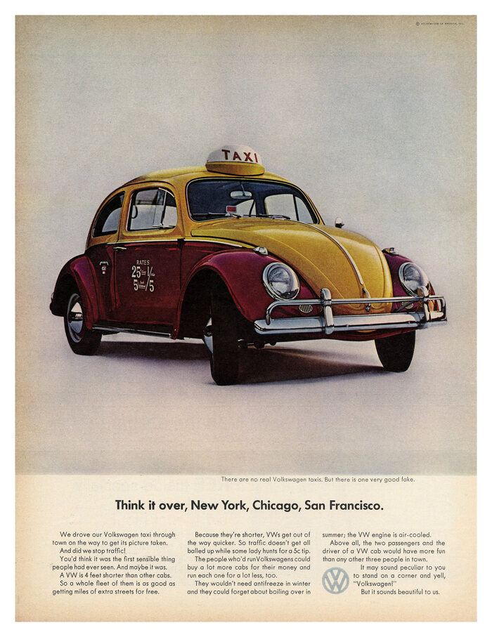 """Think it over, New York, Chicago, San Francisco"", 1963."