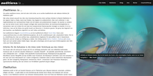 Meditieren in … website (2020)