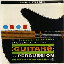 Eddie Wayne &amp; Group – <cite>The Ping Pong Sound of Guitars in Percussion</cite> album art