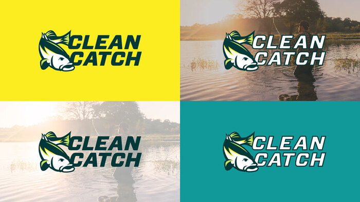 Clean Catch logo and website 2