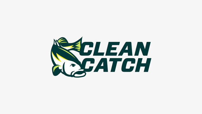 Clean Catch logo and website 1