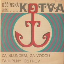 """Valérie Čižmárová – """"Za sluncem, za vodou"""" / Victor Sodoma – """"Tajuplný ostrov"""" single cover"""