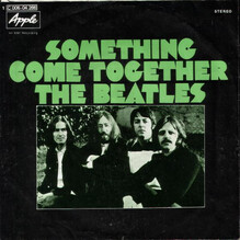"The Beatles – ""Something"" / ""Come Together"" German single cover"