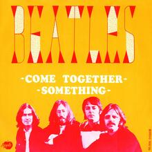 "The Beatles – ""Come Together"" / ""Something"" Dutch single cover"
