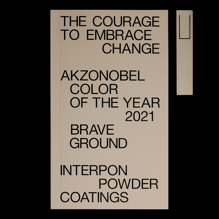 "Akzo Nobel Color of the Year 2021 ""Brave Ground"" 1"