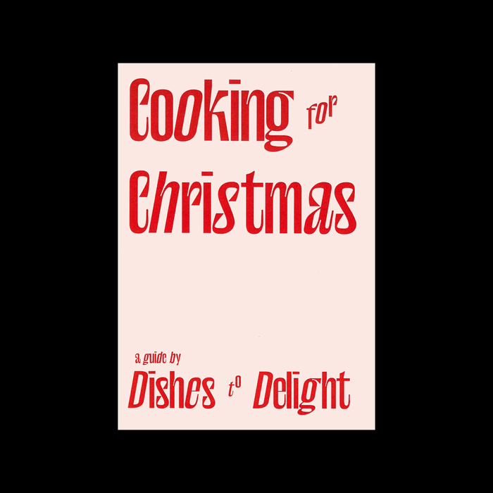 Cooking for Christmas 1