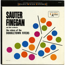 Sauter-Finegan and Their Orchestra – <cite>The Return Of The Doodletown Fifers</cite> album art