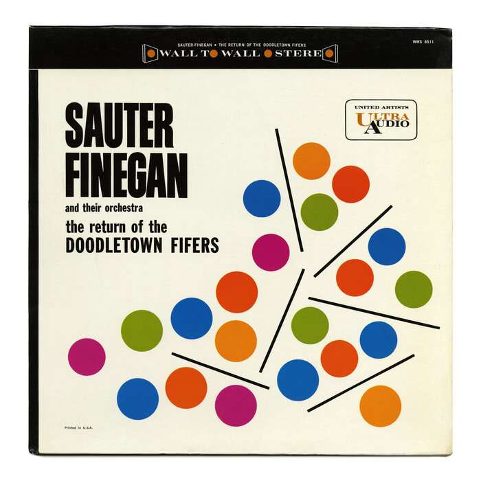 Sauter-Finegan and Their Orchestra – The Return Of The Doodletown Fifers album art