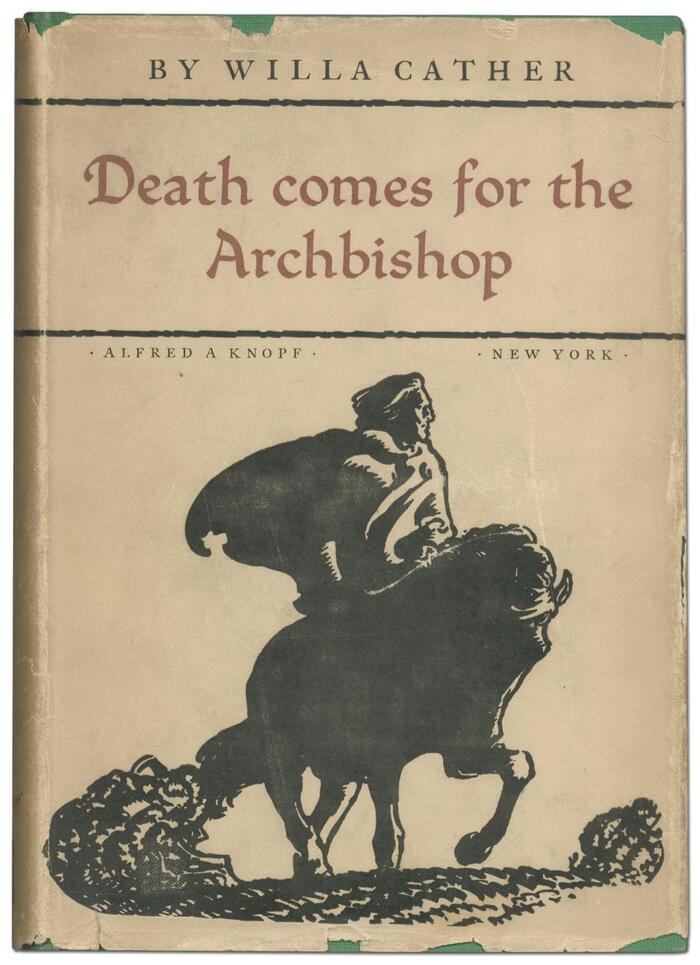 Death Comes for the Archbishop by Willa Cather (Alfred A. Knopf, 1927) 3