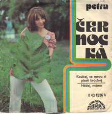 "Petra Černocká – ""Koukej, se mnou si píseň broukej""<span class=""nbsp"">&nbsp;</span>/ ""Hádej, mámo"" single cover"